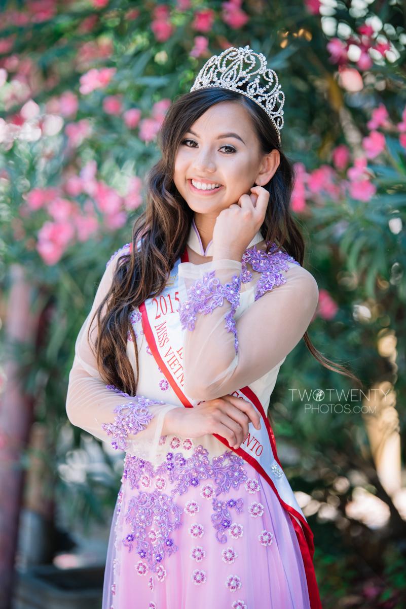 Miss Vietnam Sacramento by Two Twenty Photos Sacramento Photographer