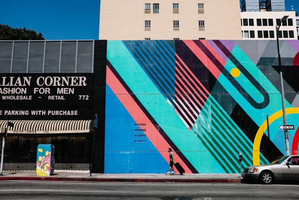 downtown los angeles street photos