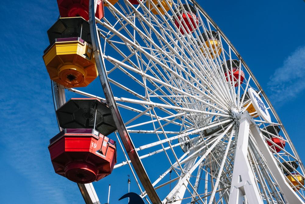 santa monica pier roller coaster-16