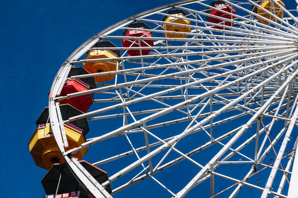 santa monica pier roller coaster-18