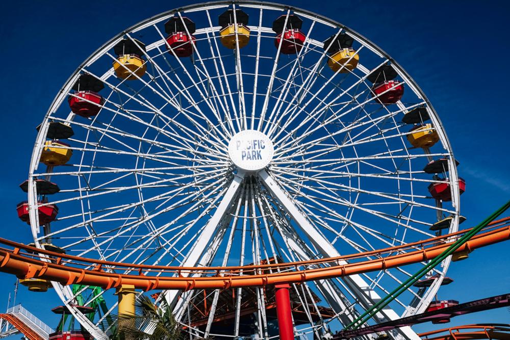 santa monica pier roller coaster-21