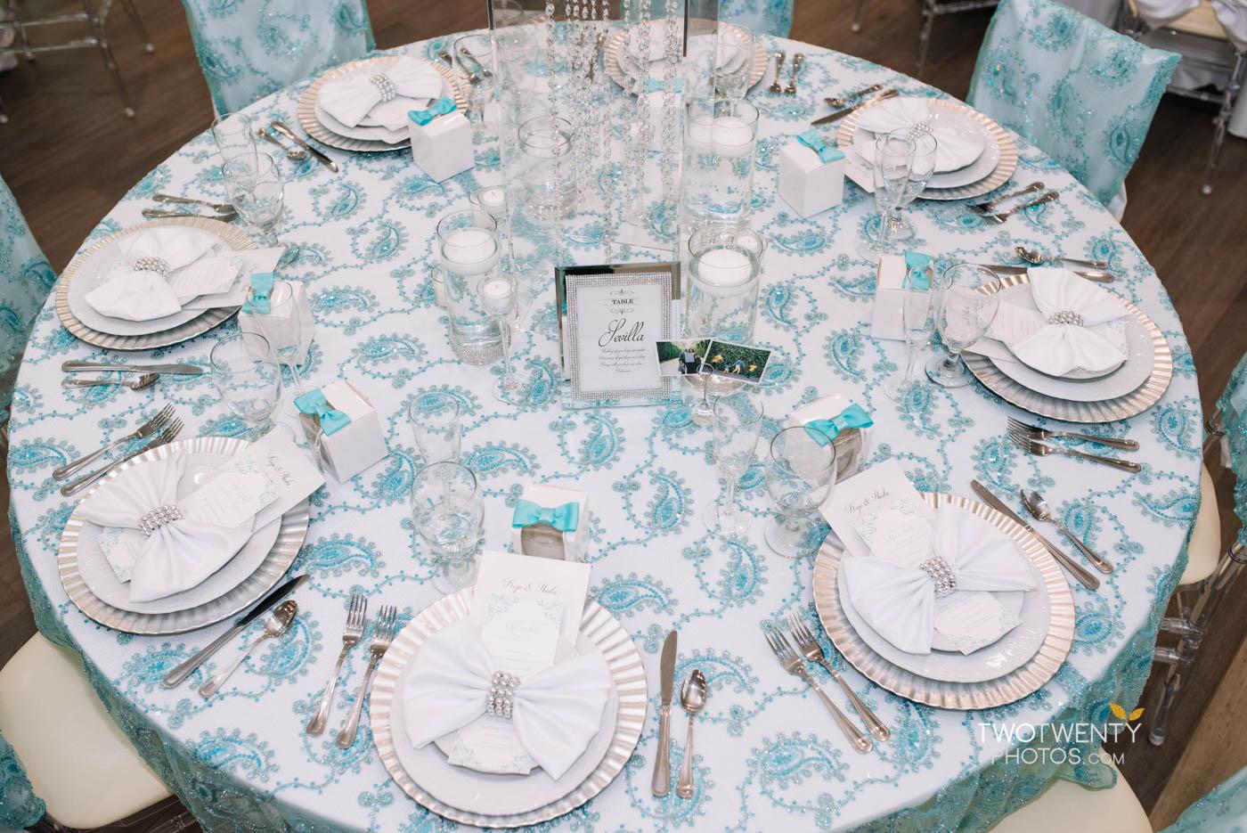tiffany blue luxury wedding anniversary celebration-32