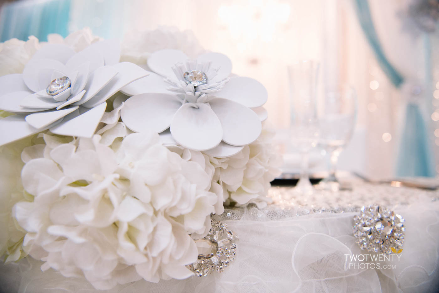 tiffany blue luxury wedding anniversary celebration-6