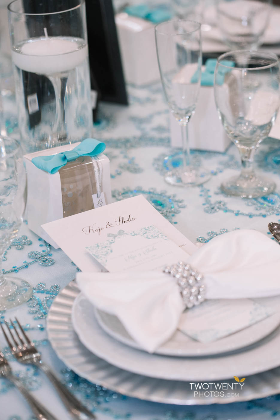 tiffany blue luxury wedding anniversary celebration-7