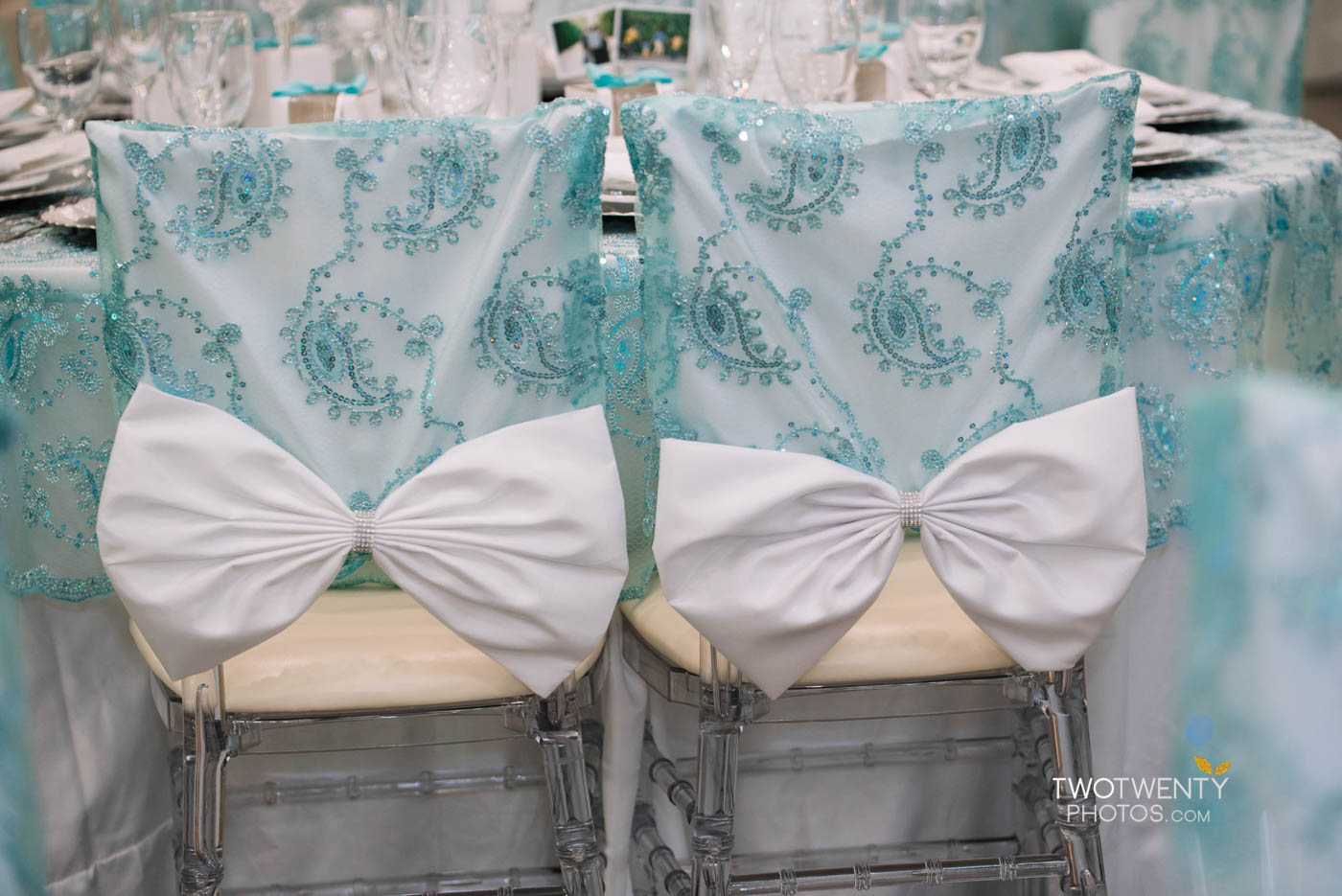 tiffany blue luxury wedding anniversary celebration-8