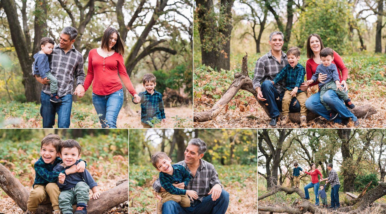 Sacramento Fall Family Portrait Photographer