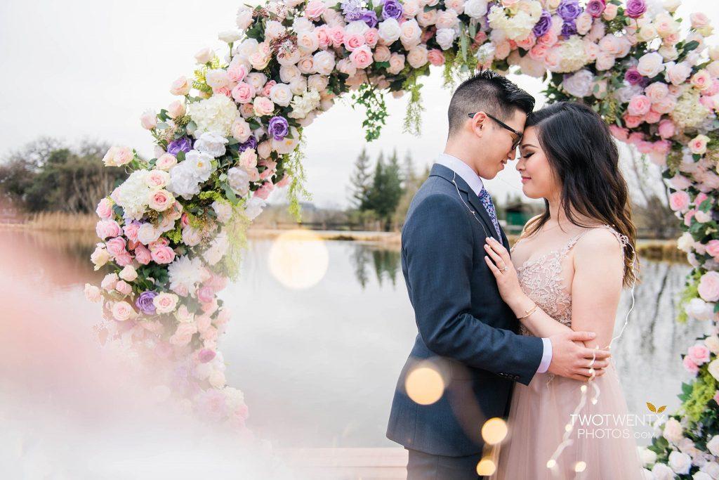 Bywater Hollow Lavender Farm Sacramento engagement wedding photographer