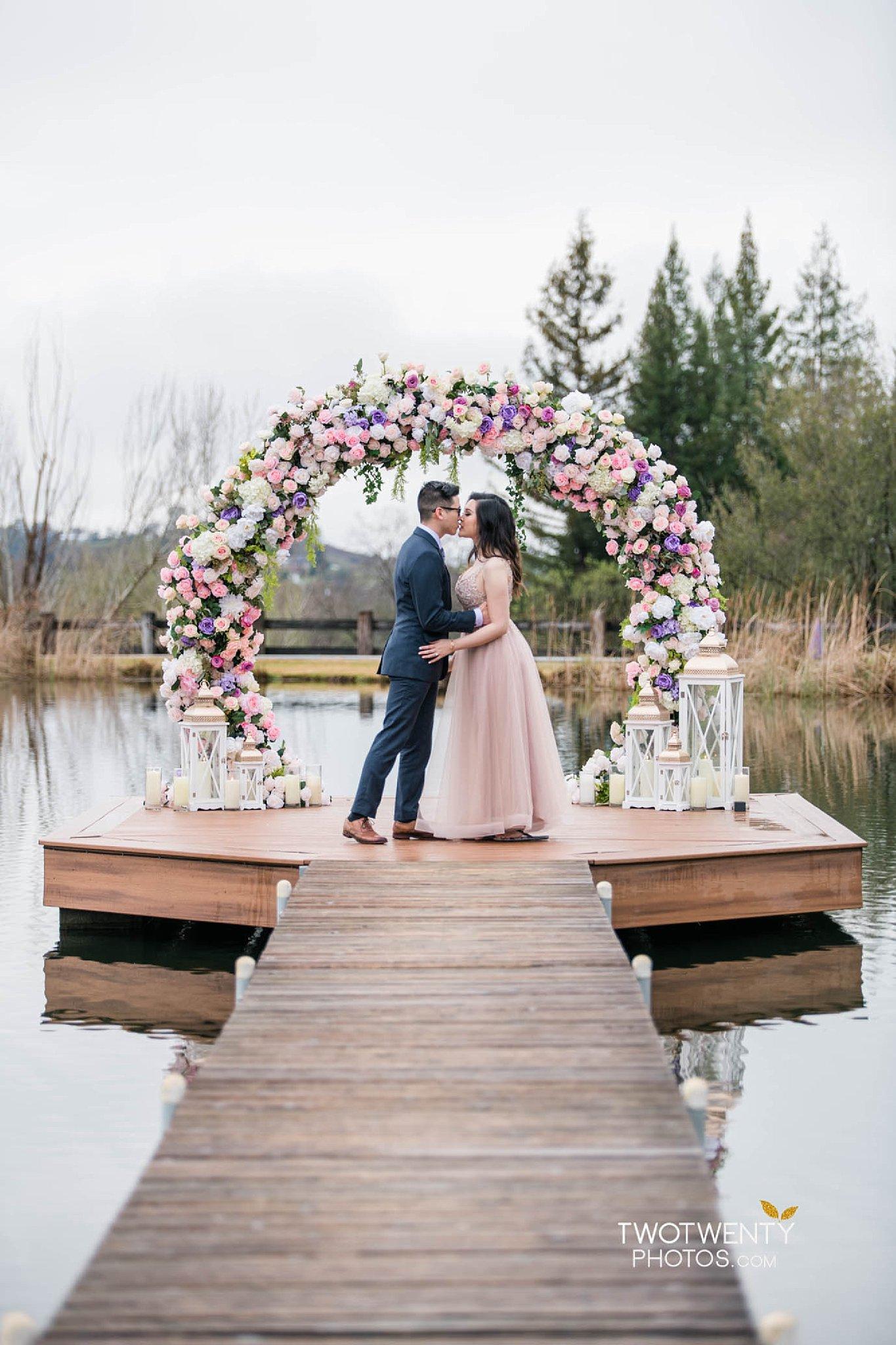 Bywater Hollow Lavender Farm Sacramento engagement Roseville Folsom wedding photographer