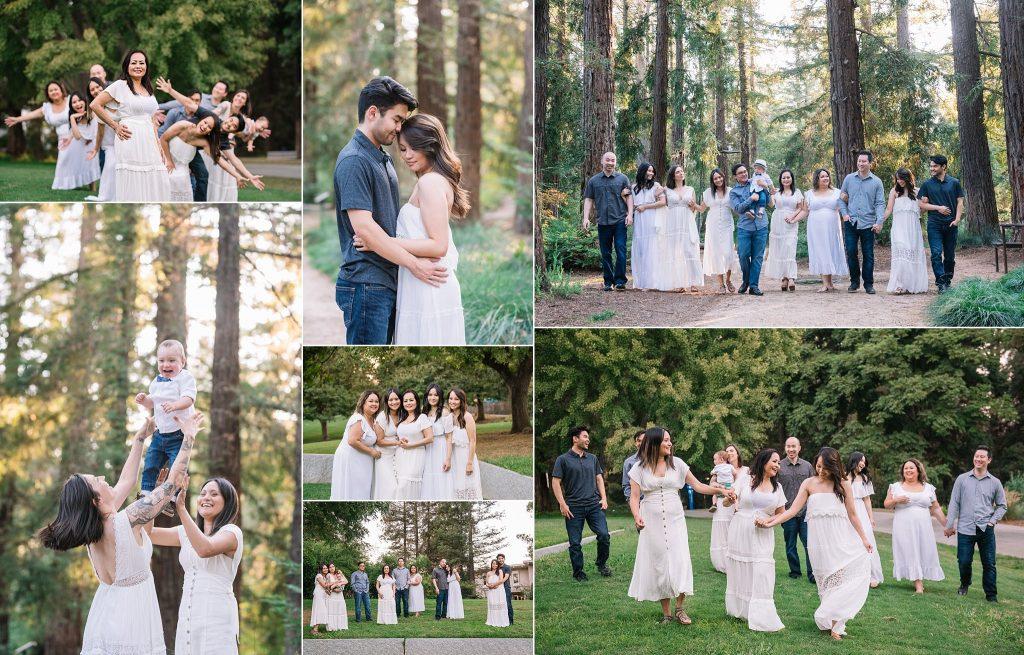 UC Davis arboretum sacramento photographer fall family photos